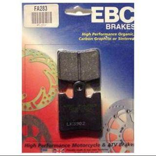 EBC Organic Brake Pads Rear Fits 03 12 Aprilia Scarabeo 500