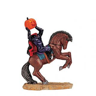 Lemax Spooky Town Collection Headless Rider   Seasonal   Halloween