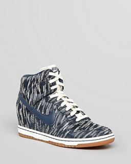 Nike High Top Lace Up Sneakers   Women's Dunk Sky Hi