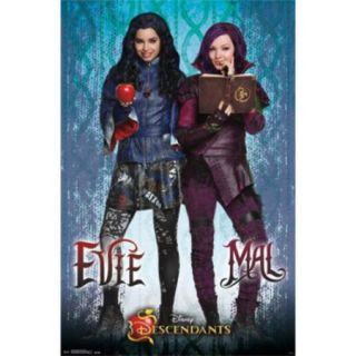 Disney Descendants   Mal and Evie Poster Print (24 x 36)