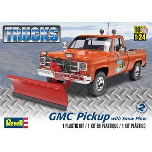 Revell Monogram Revell 124 Scale GMC Pickup with Snow Plow Model Kit