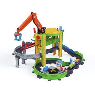 Tomy Chuggington StackTrack Motorized Drop and Load Dash   Toys