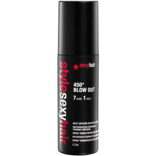 Style Sexy Hair 450º Blow Out 4.2 ounce Heat Defense Spray