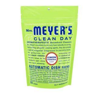 Mrs. Meyer's Clean Day 12.7 oz. Lemon Verbena Automatic Dishwasher Packs 14264