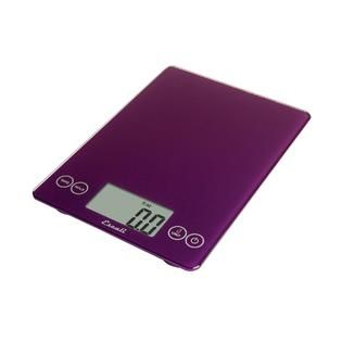 Escali Arti Glass Digital Scale, 15 Lb / 7 Kg, Deep Purple   Home