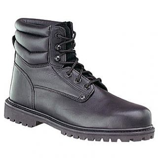 Roebucks Mens 6in. Steel Toe Boot   Black   Clothing, Shoes & Jewelry