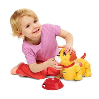 Tomy Push Me Pull Me Puppy   Toys & Games   Ride On Toys & Safety