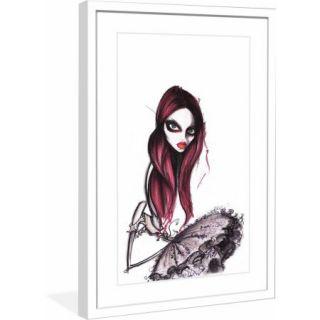 "Marmont Hill ""Codie"" by Jamie Lee Reardin Fashion Illustrator Framed Art Print"