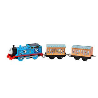Thomas & Friends TrackMaster Blue Team Thomas   Toys & Games   Action