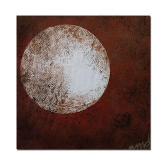 Trademark Fine Art Moon by Nicole Dietz Painting Print on Wrapped