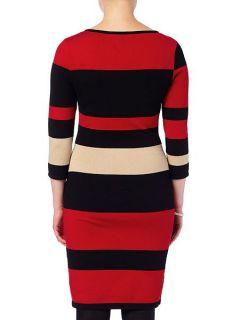 Phase Eight Mackenzie colour block dress Multi Coloured