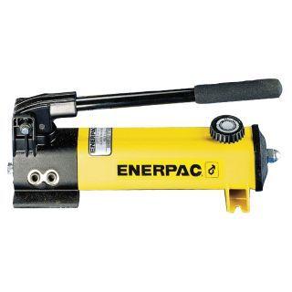 "ENERPAC 13 1/4"" x 3 3/4"" x 5 1/2"" 1 Stage Hydraulic Hand Pump   Hydraulic Hand and Foot Pumps   18Y532|P141"