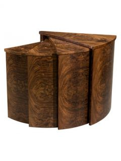 The Slice Nesting Tables by THEODORE ALEXANDER