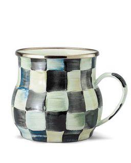 MacKenzie Childs Courtly Check Mug