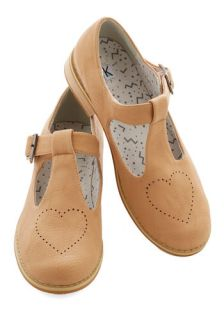 Love Song and Dance Flat  Mod Retro Vintage Flats