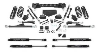 Fabtech   Fabtech 5 Inch Coilover System with Dirt Logic 2.5 Shocks K4040M   Fits 2007 to 2011 Jeep JK Wranglers