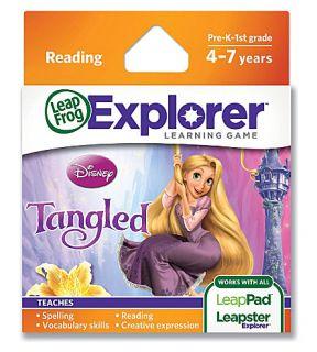 LEAP FROG   Explorer Tangled game cartridge