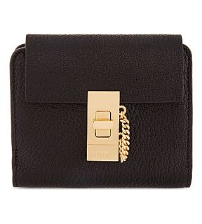 CHLOE   Drew square leather purse