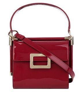 ROGER VIVIER   Miss Viv mini patent leather shoulder bag