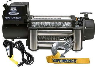 Superwinch   Superwinch Tiger Shark Series 9.5K Electric Winch 1595200