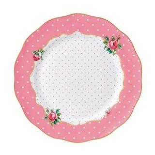 Royal Albert Cheeky Pink Pink large plate