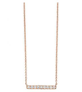 ASTLEY CLARKE   Small linia halo necklace
