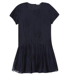 CHLOE   Short sleeve silk dress 8 14 years