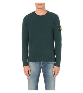 STONE ISLAND   Knitted wool jumper