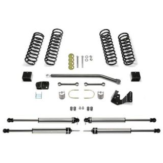 Fabtech   3 Inch Sport II System with Dirt Logic 2.25 Non Resi Shocks   Fits 2007 to 2016 JK Wrangler and Rubicon