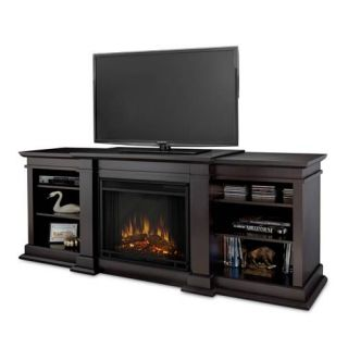 Real Flame Fresno Media Console Electric Fireplace