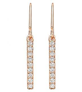 ASTLEY CLARKE   Small linia halo earrings