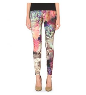 TED BAKER   Aniela Technicolour bloom leggings