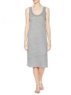 Linen Silk Tank Dress by London LAtelier
