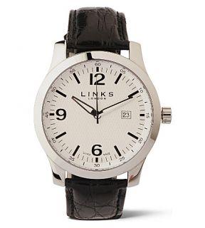 LINKS OF LONDON   Capital steel white watch