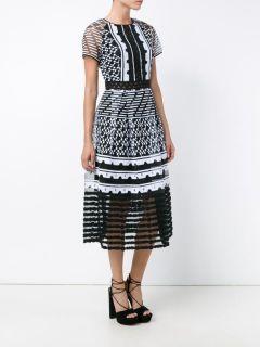 Jonathan Simkhai Embroidered Midi Dress    Browns