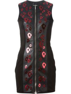Anthony Vaccarello Embellished Zipped Dress