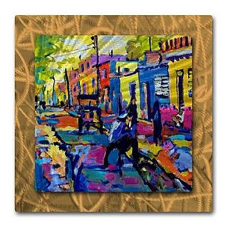 All My Walls Cuban Village by Brian Simons Painting Print Plaque
