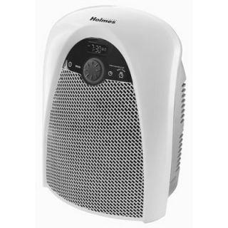 Holmes Bathroom Heater, Clock/Timer, Thermostat, Wall Mountable: Model# HFH436WGL UM