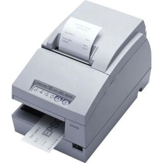 C31C283012 Epson Epson TM U675 110 POS Receipt Printer, Dot Matrix, 9 Pin, Monochrome, Upto 17.8 cpi Resolution, Up to 5.1 Lines/Sec, Serial