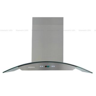 Xtreme Air Pro X 30 900 CFM Island Range Hood in Stainless Steel
