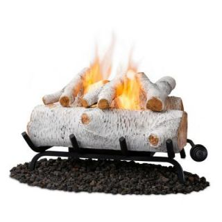 Real Flame 18 in. Birch Convert to Gel Fireplace Logs 2610 B