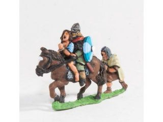 Mounted Huscarl & Female Captive w/Prisoner Following MINT/New