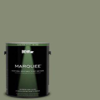 BEHR MARQUEE 1 gal. #PPU10 17 Aloe Thorn Semi Gloss Enamel Exterior Paint 545301