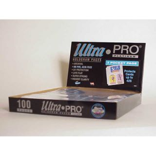Ultra Pro 4 x 6 Card or Photos Display Box (3 Pocket Pages