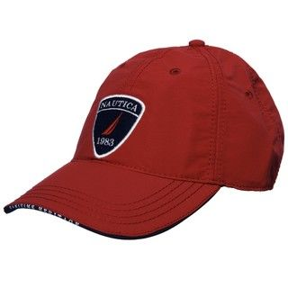 Nautica Mens Vintage Red 1983 Patch Hat  ™ Shopping