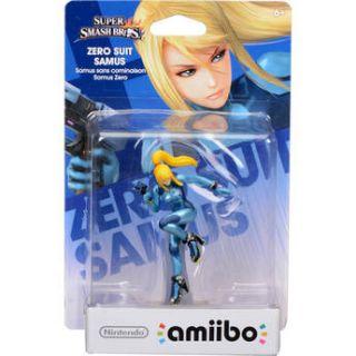 Nintendo  Zero Suit Samus amiibo Figure NVLCAABF