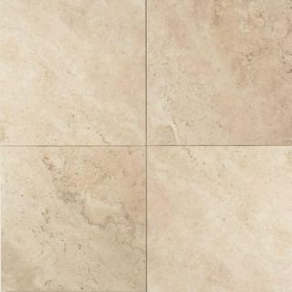 Daltile Travertine Baja Cream 16 in. x 16 in. Natural Stone Floor and Wall Tile (10.32 sq. ft. / case) T72016161U