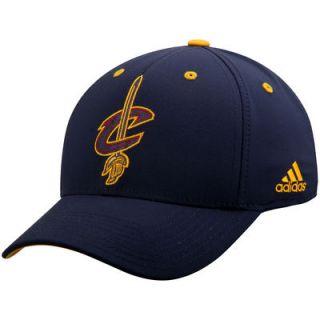 Cleveland Cavaliers adidas Team Nation Logo Structured Flex Hat   Navy
