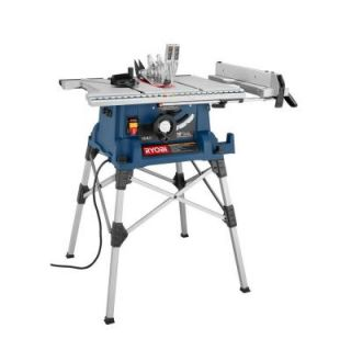 Ryobi Reconditioned Table Saw with Folding Stand ZRRTS21
