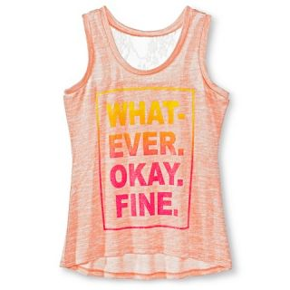 Girls Miss Chievous Whatever Tank Top